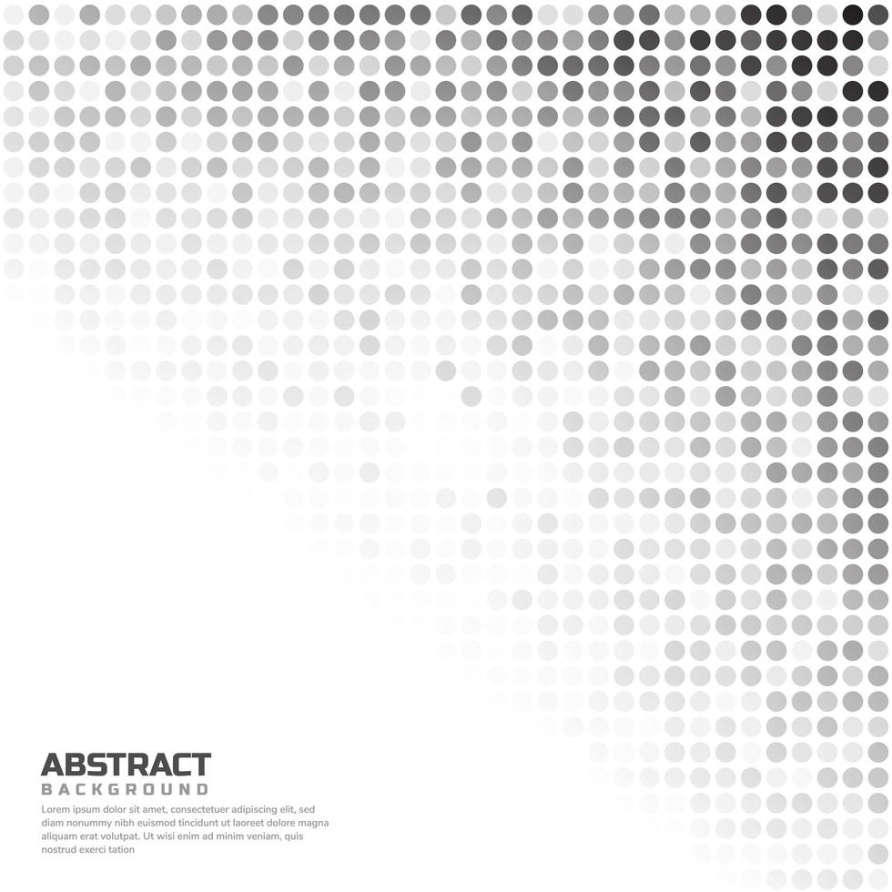 vit och grå slumpmässig prickar bakgrund vektor