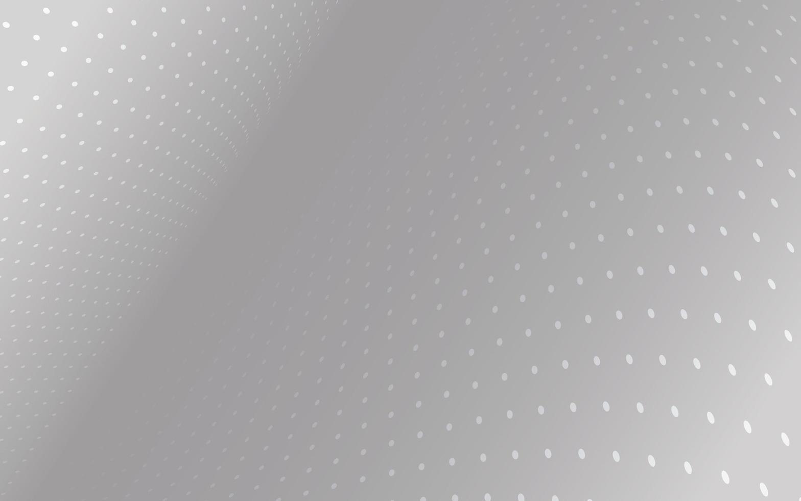 flytande grå bakgrund med prickar vektor