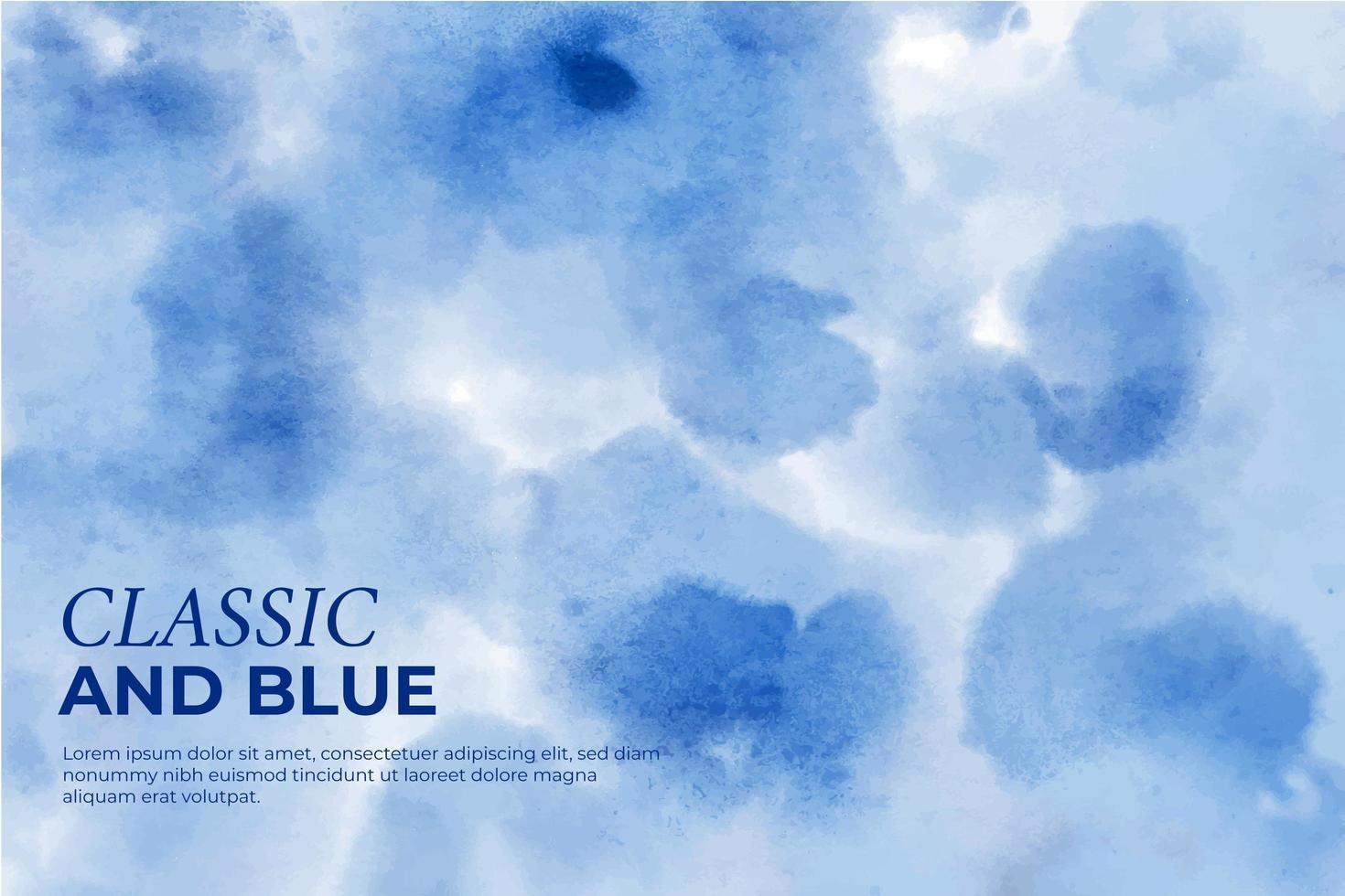 klassisk blå bakgrund vektor
