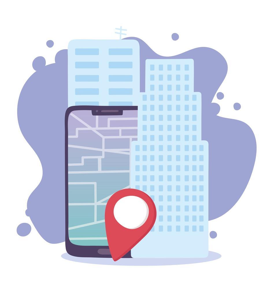 online leveransservice vektor