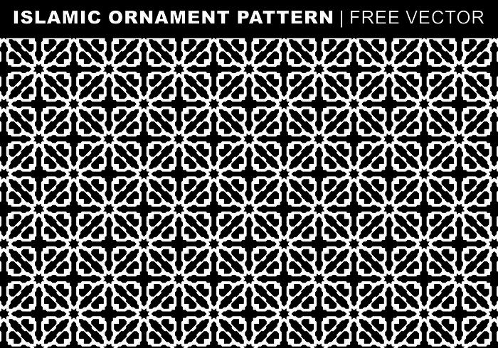 Islamische Ornament-Muster Free Vector