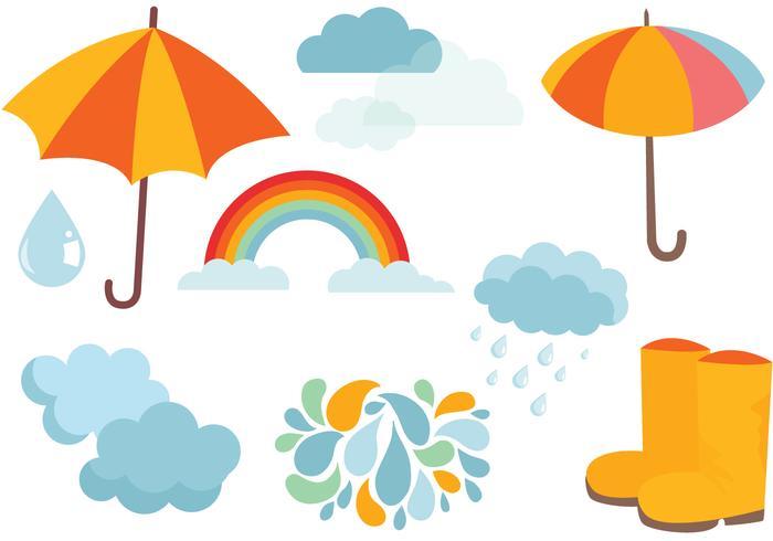 Fria Monsoon Vektorer