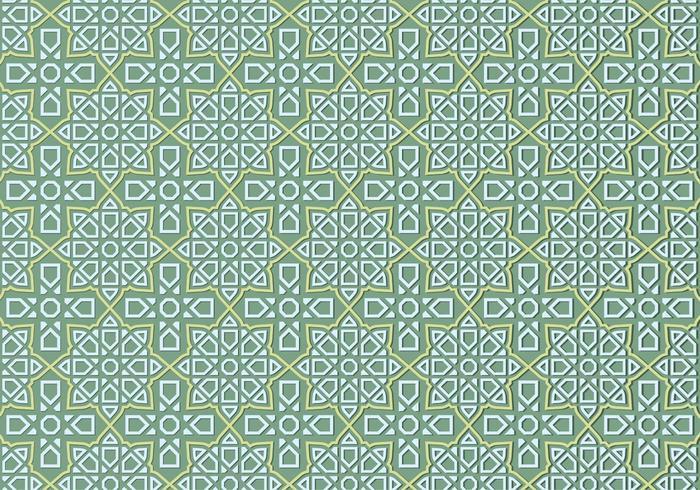Islamische Ornamente Muster vektor
