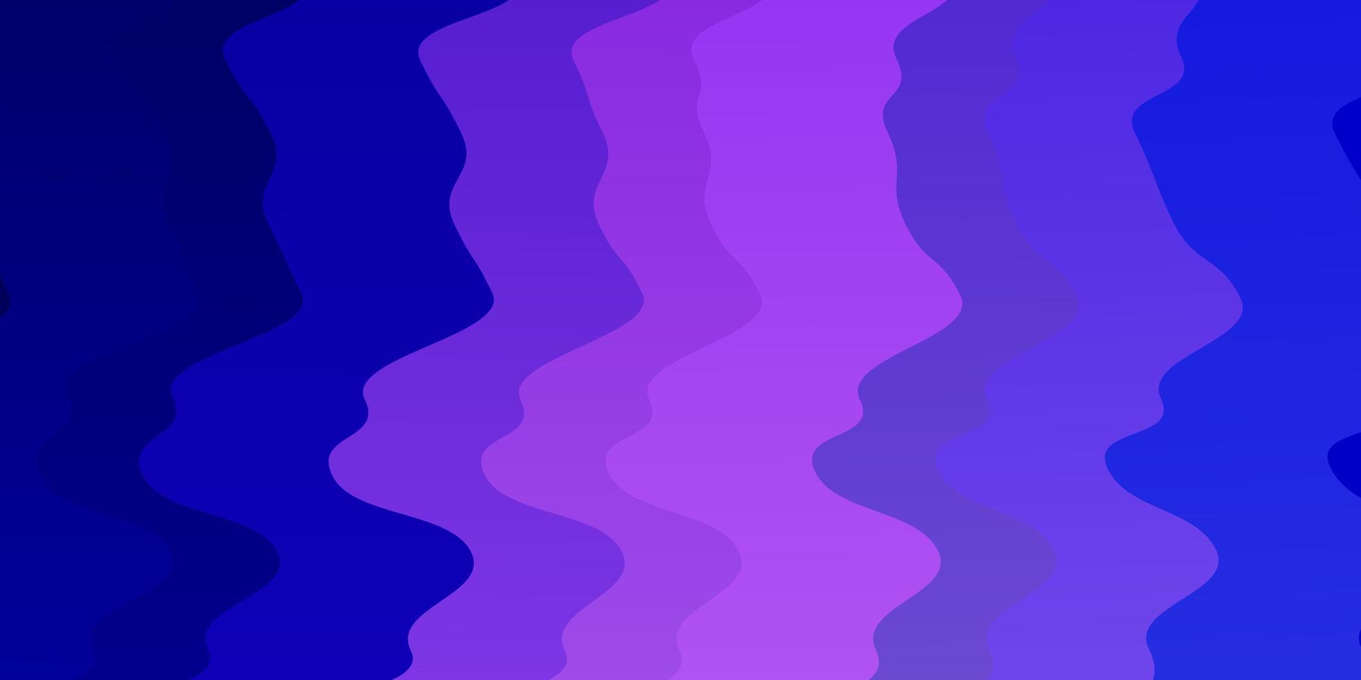 rosa och blå bakgrund med kurvor vektor