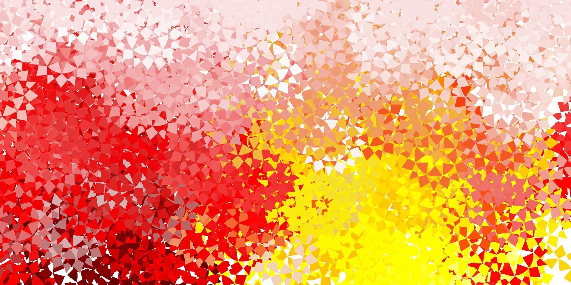 färgstark bakgrund med trianglar. vektor