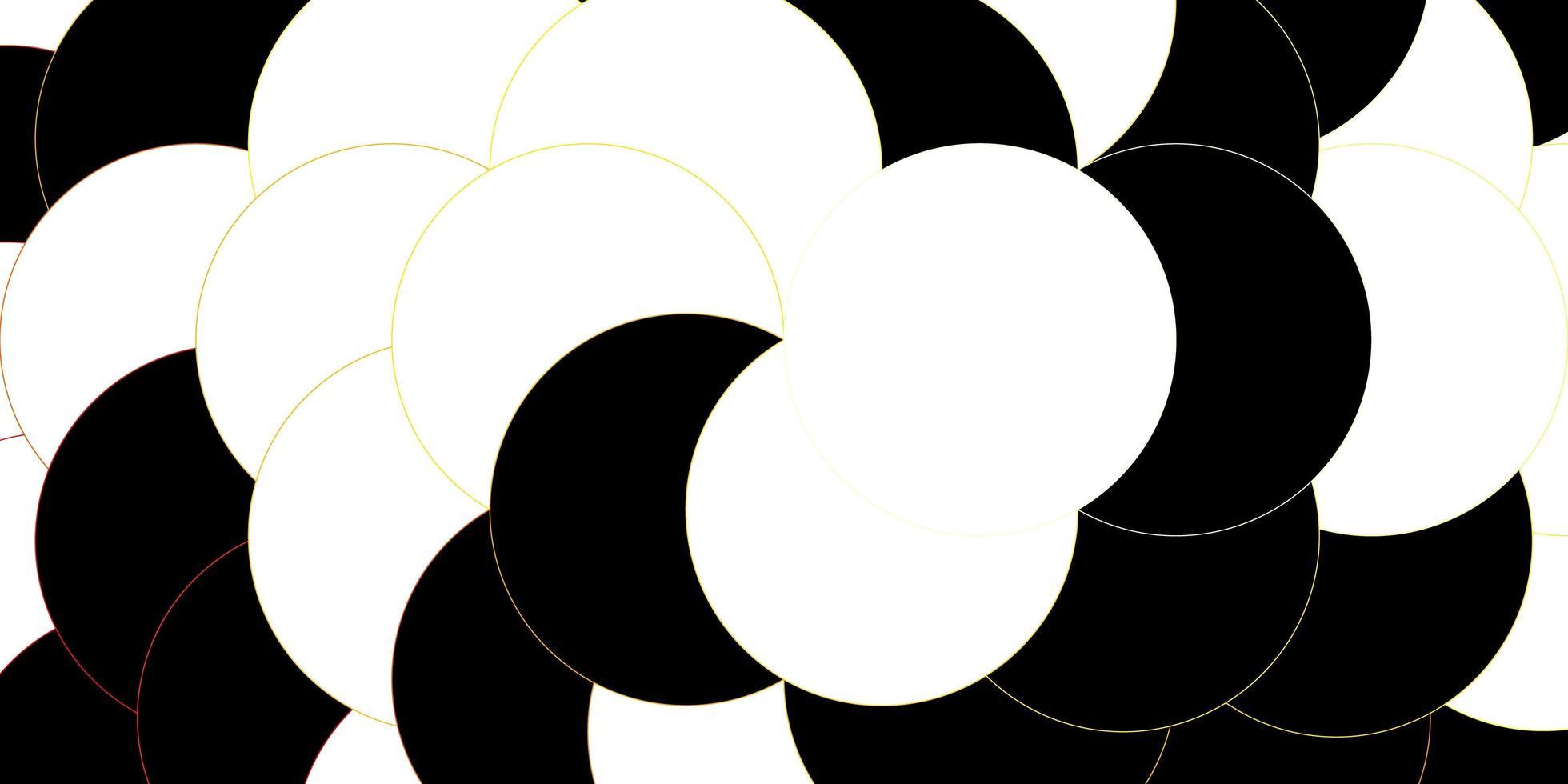 Textur mit umrissenen Scheiben. vektor