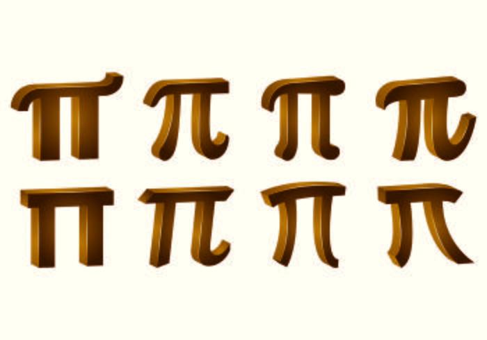 Pi Symbol Vektoren