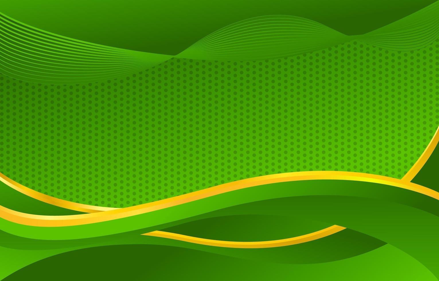 abstrakt grön bakgrund vektor