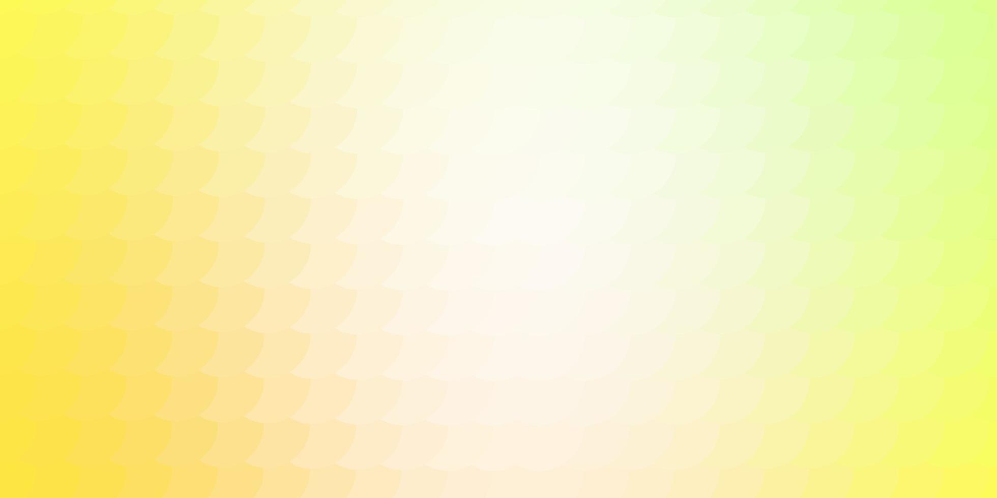 hellgrüne und gelbe Textur mit Kreisen. vektor