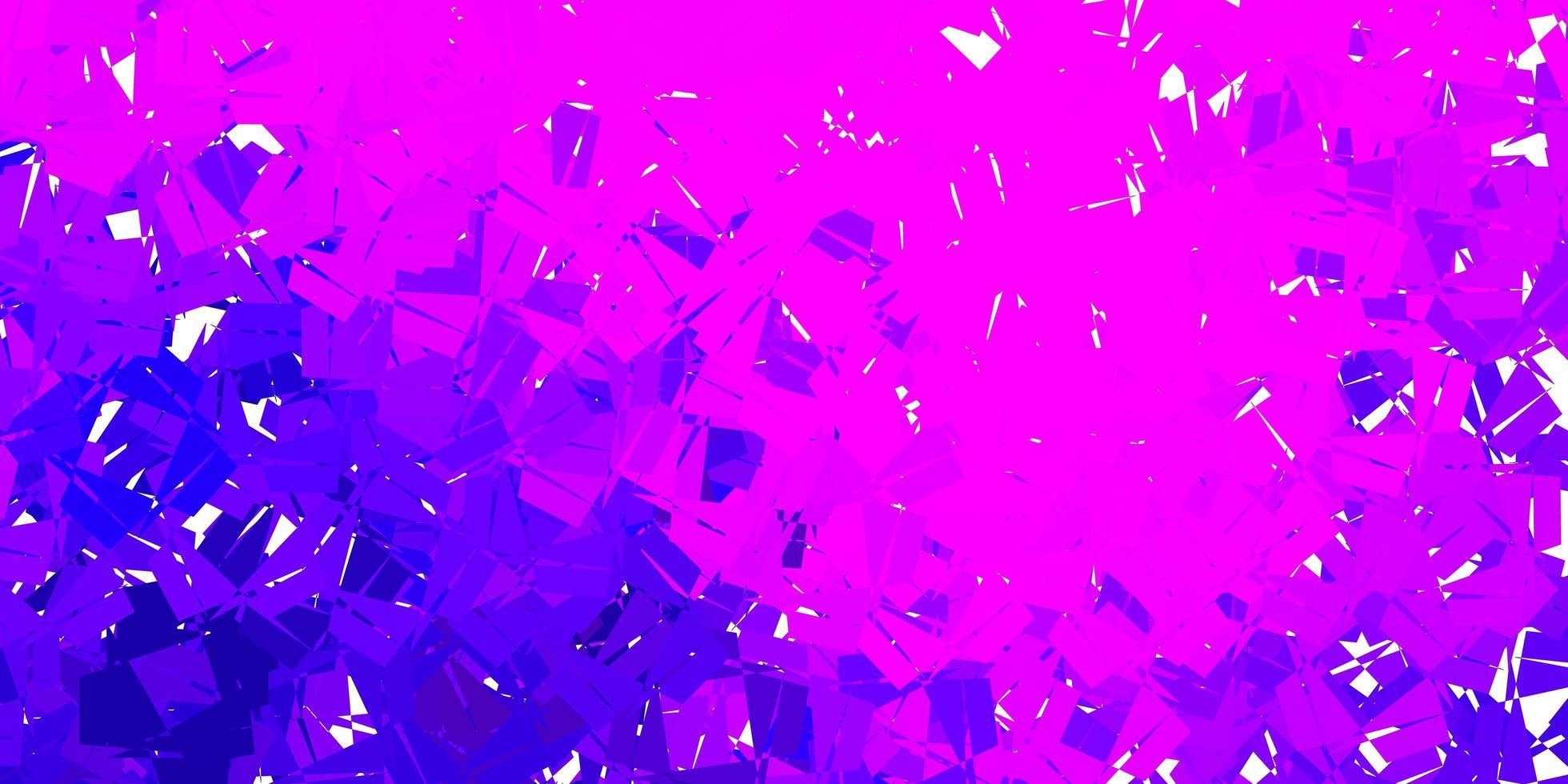 lila och rosa former bakgrund vektor