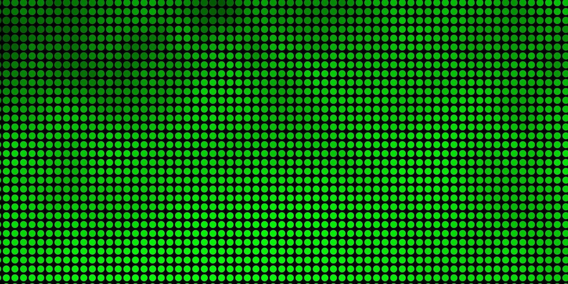 grüner Hintergrund mit Punkten. vektor