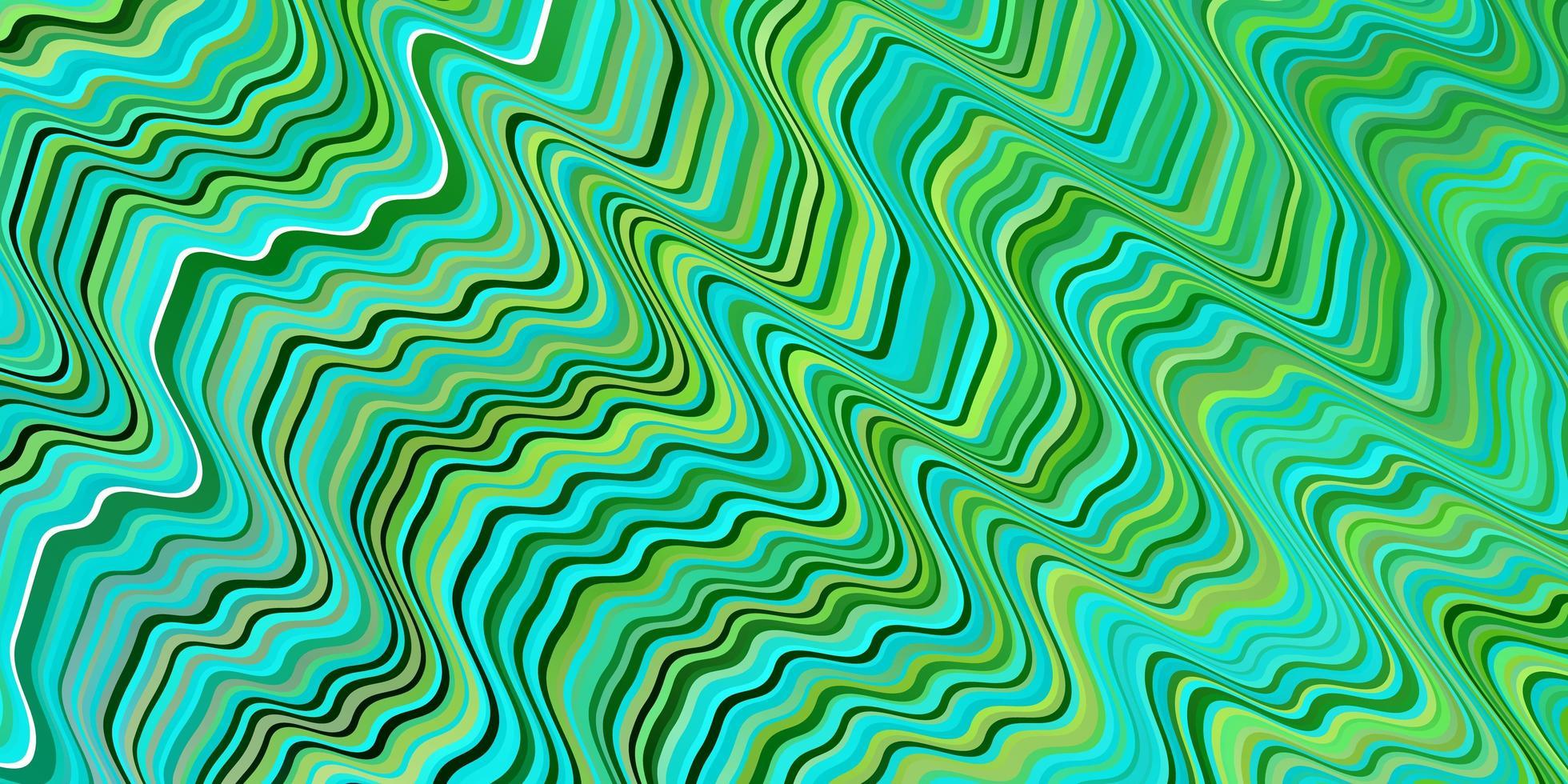 grön och gul mall med linjer vektor