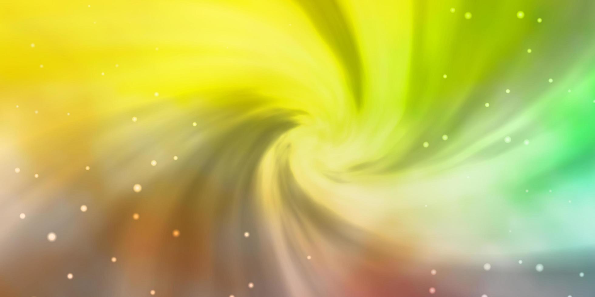 grüne und rote Textur mit schönen Sternen. vektor