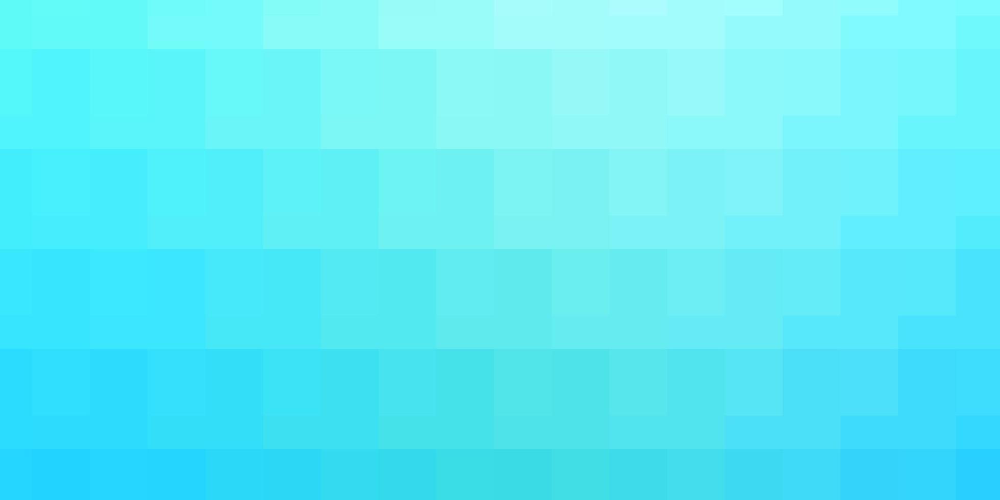hellblaue Vorlage mit Rechtecken. vektor