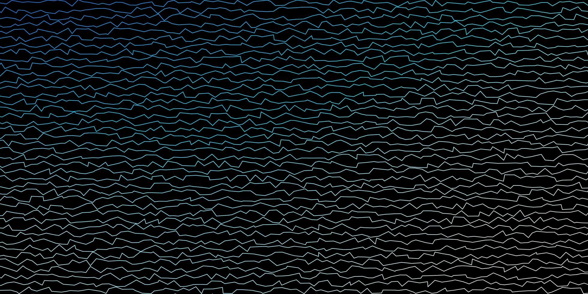 blått mönster med linjer. vektor
