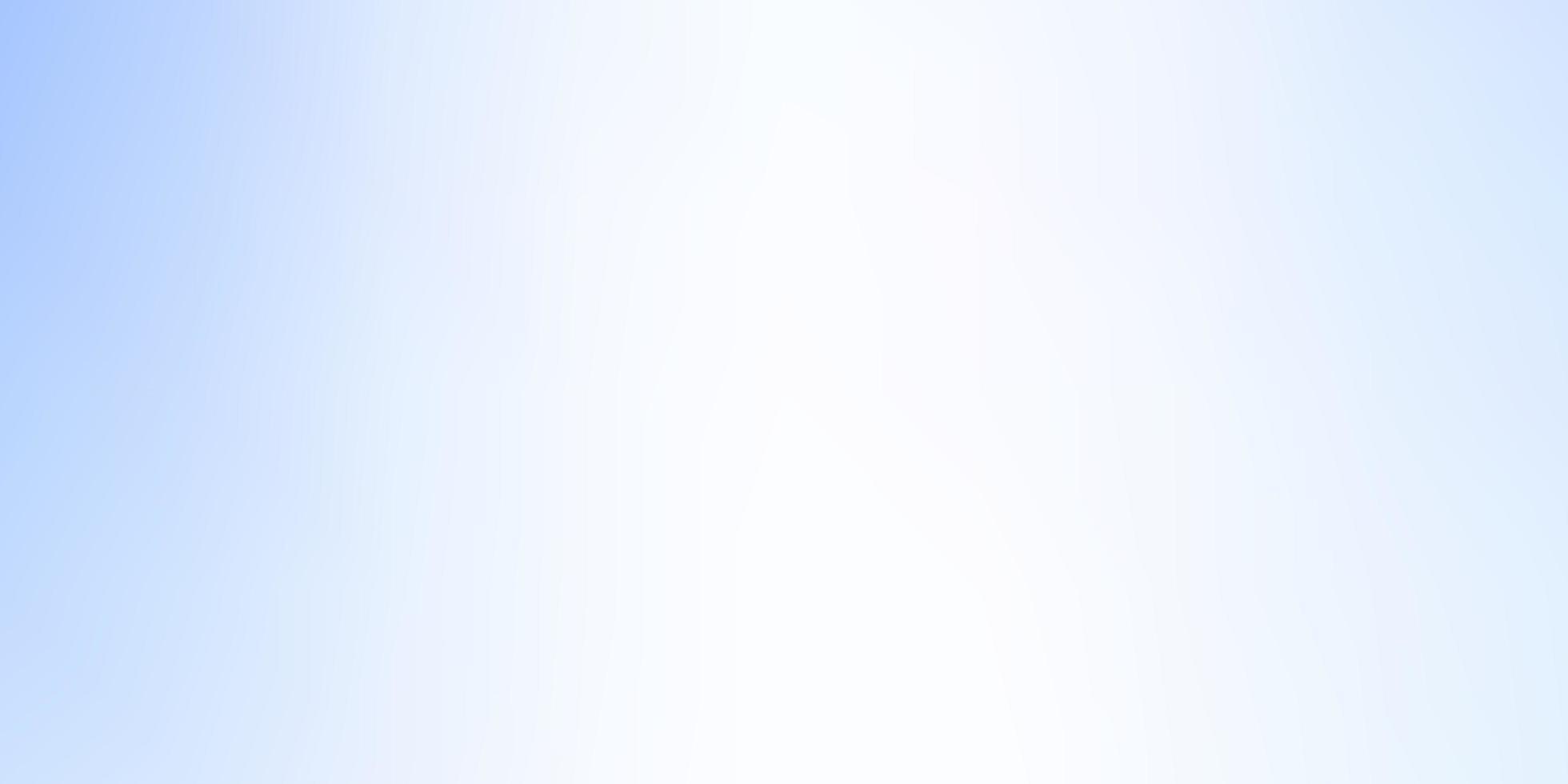 ljusblå suddig färgstark bakgrund. vektor
