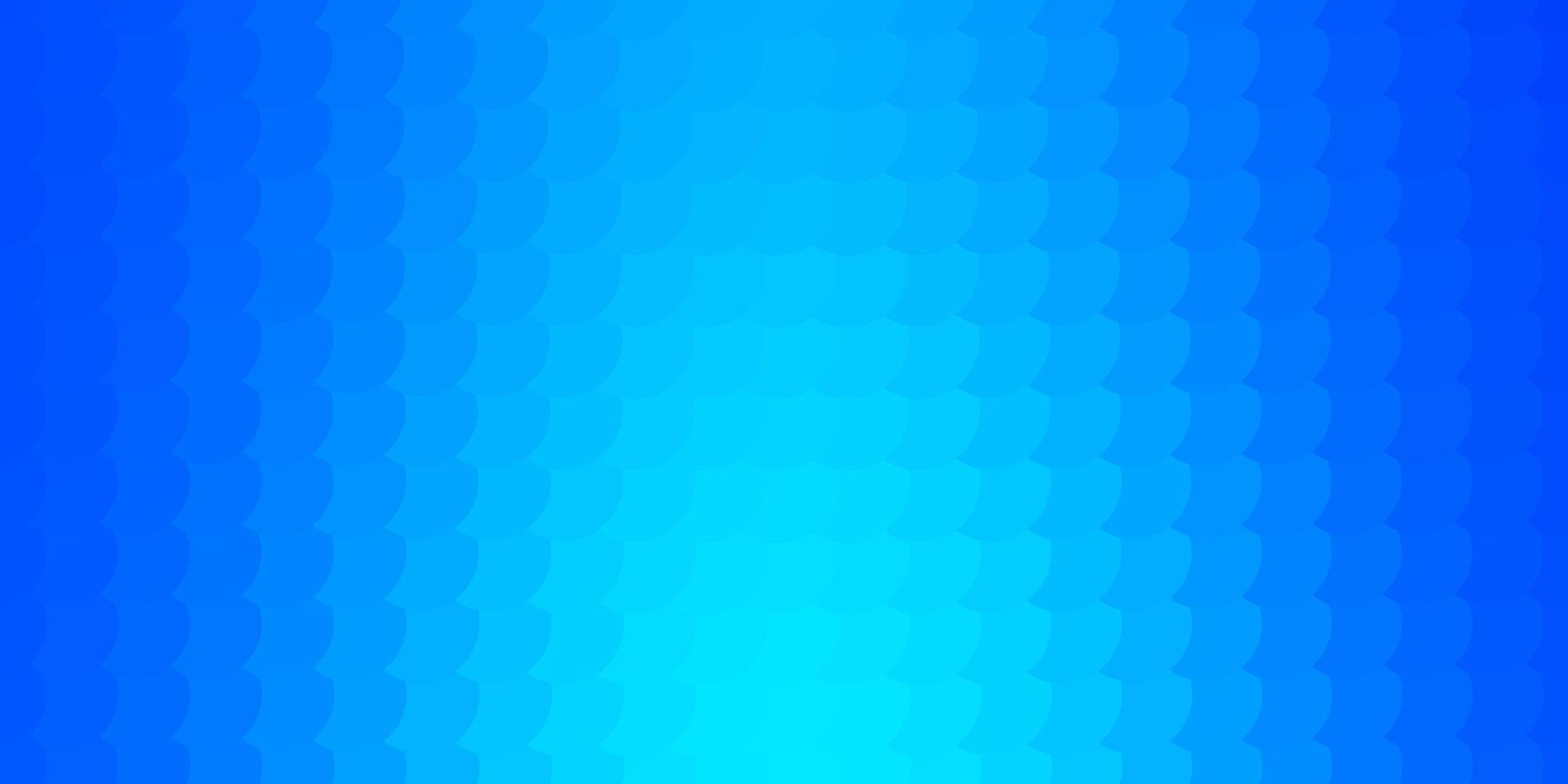 blå bakgrund med bubblor. vektor