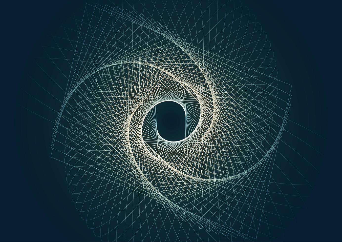 abstrakter dunkelblauer Designhintergrund vektor