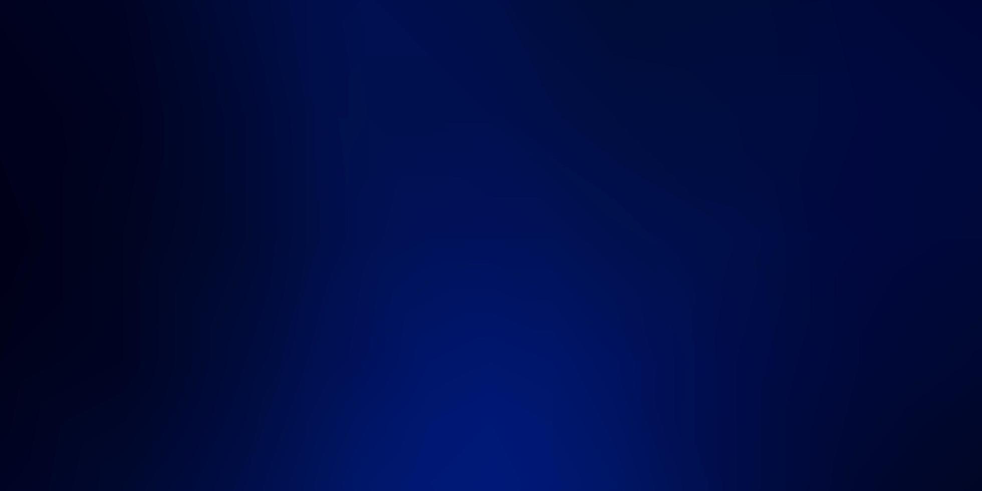 mörkblå modern suddig layout. vektor