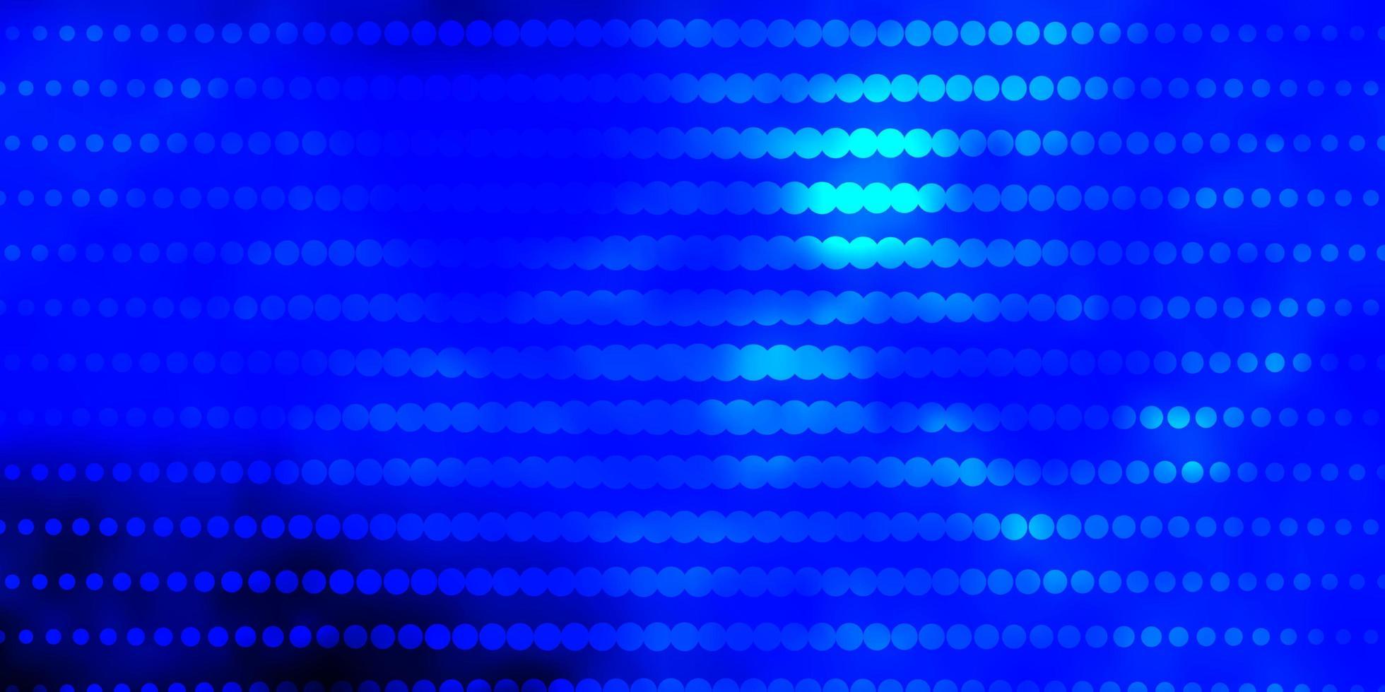 blå konsistens med cirklar. vektor