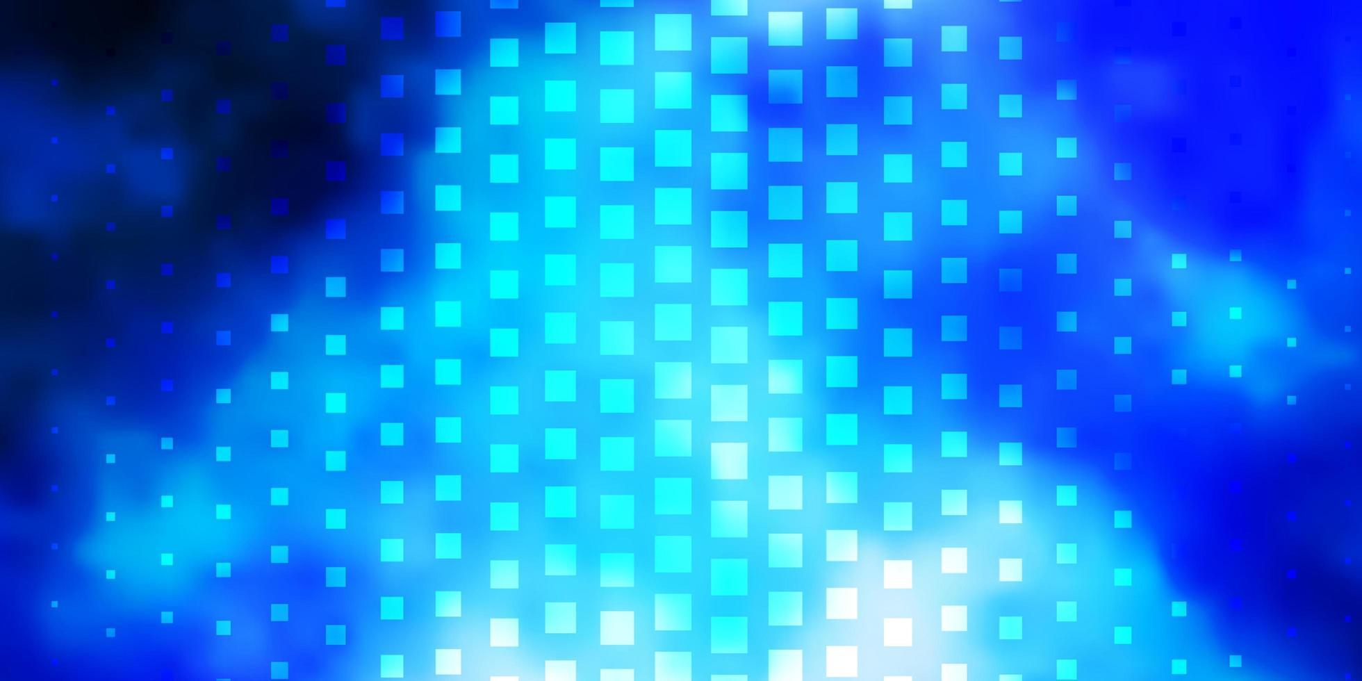 blaue Vorlage mit Rechtecken. vektor
