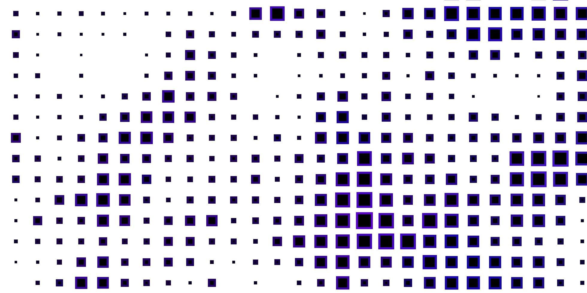 dunkelvioletter Hintergrund mit Quadraten vektor