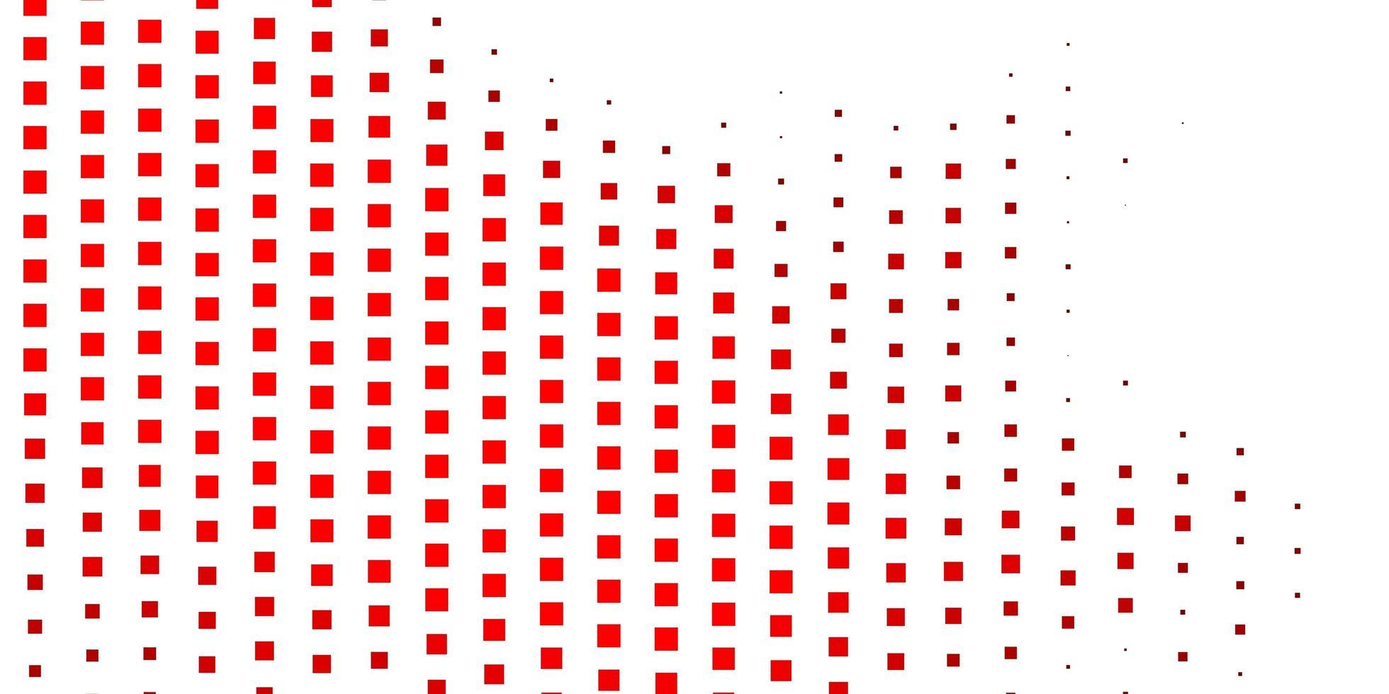 rotes Layout mit Rechtecken. vektor