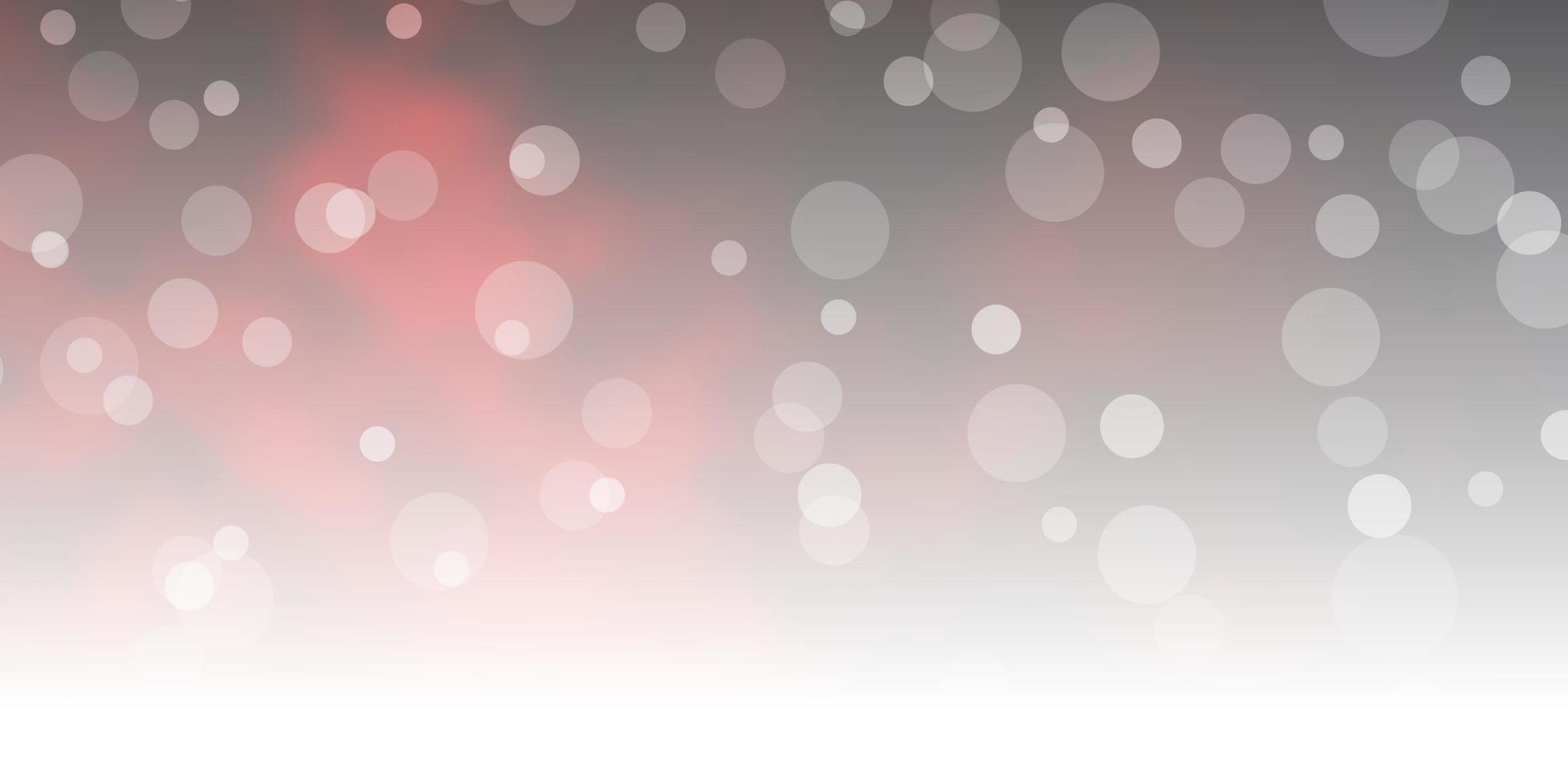 röd mall med cirklar. vektor