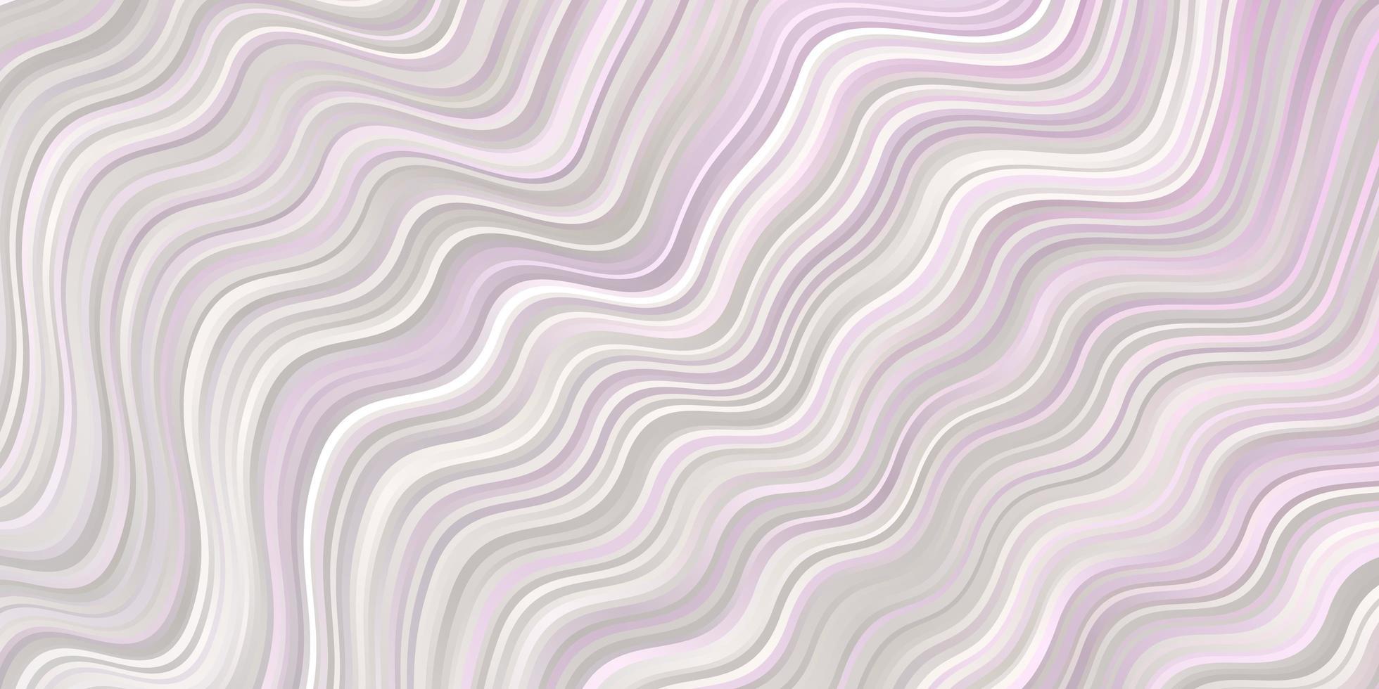 ljusrosa layout med vågor vektor