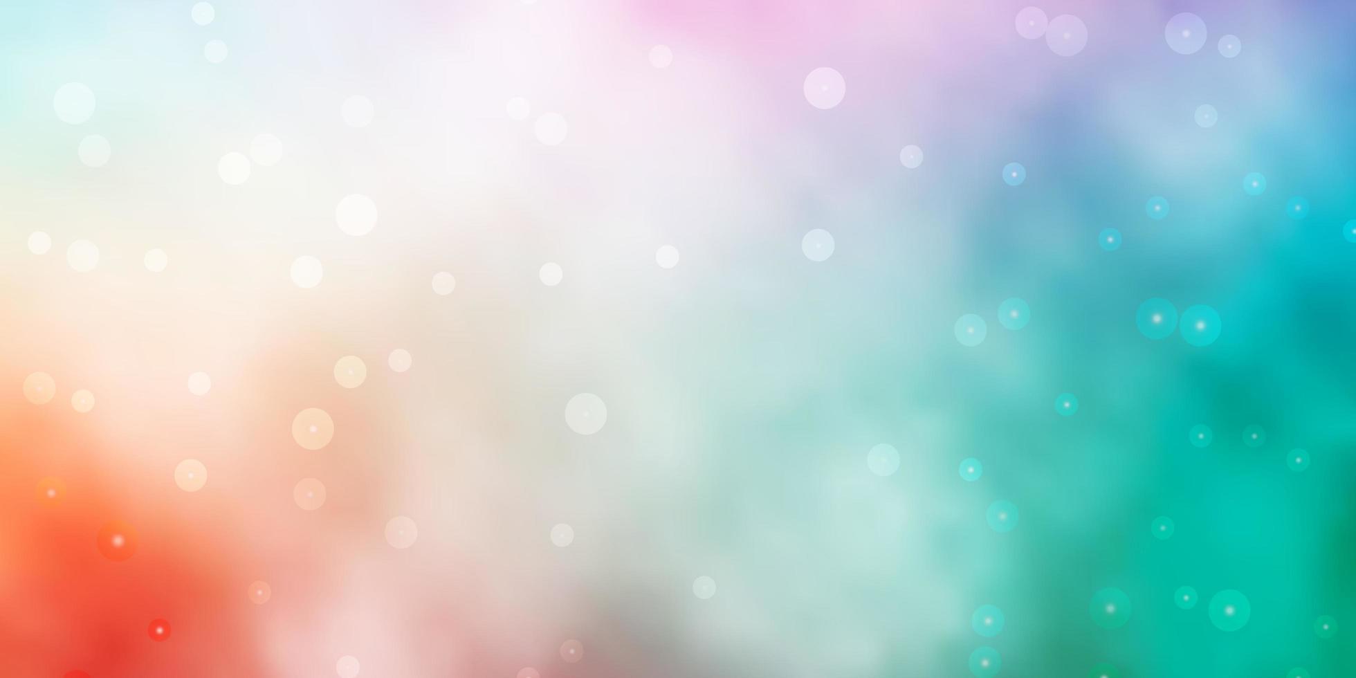 grön och röd layout med ljusa stjärnor. vektor