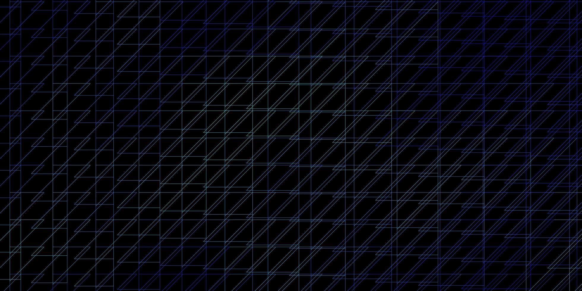 dunkles Layout mit blauen Linien. vektor
