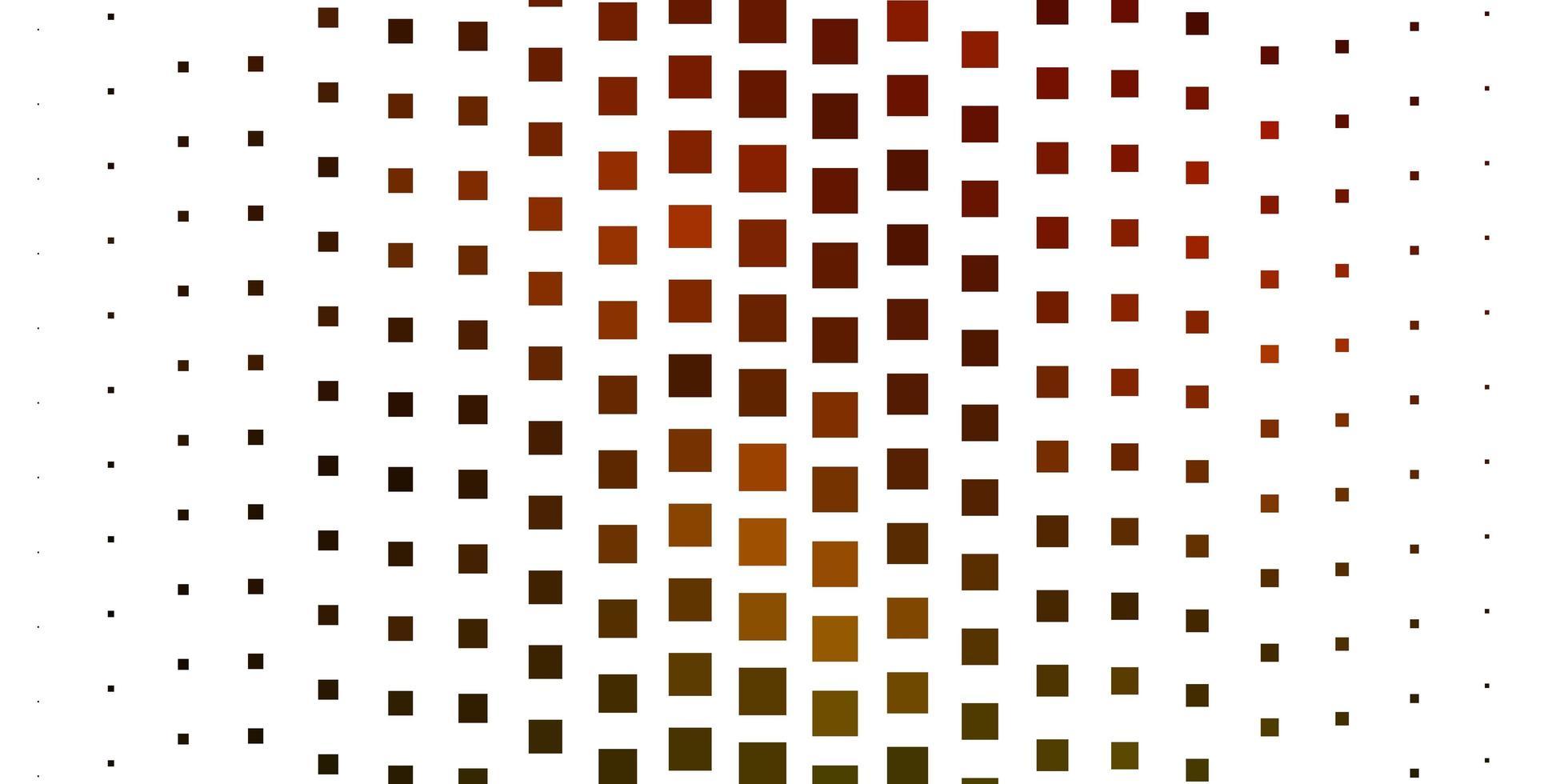 dunkelroter Hintergrund mit Quadraten. vektor