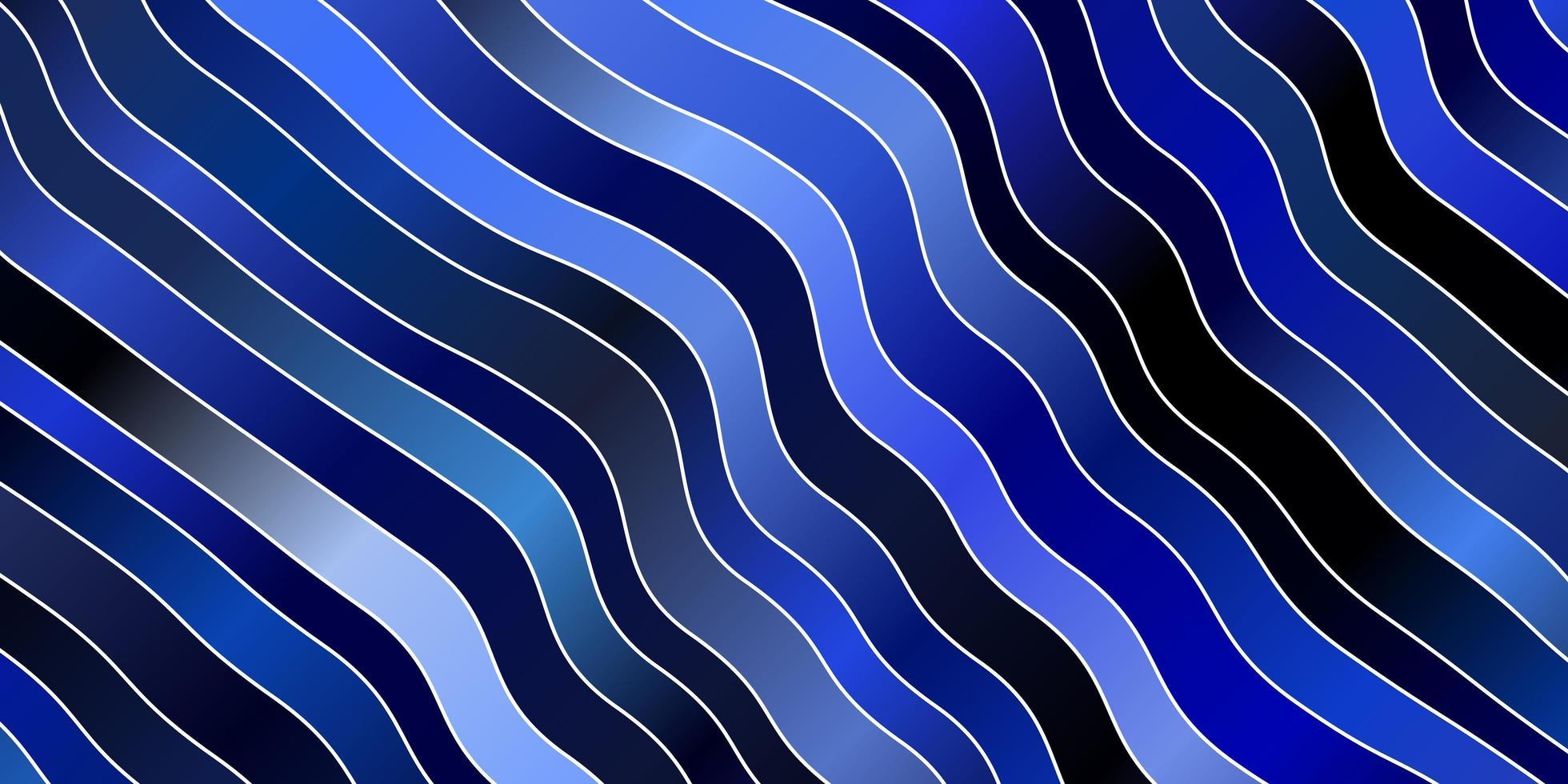 blå bakgrund med bågar. vektor