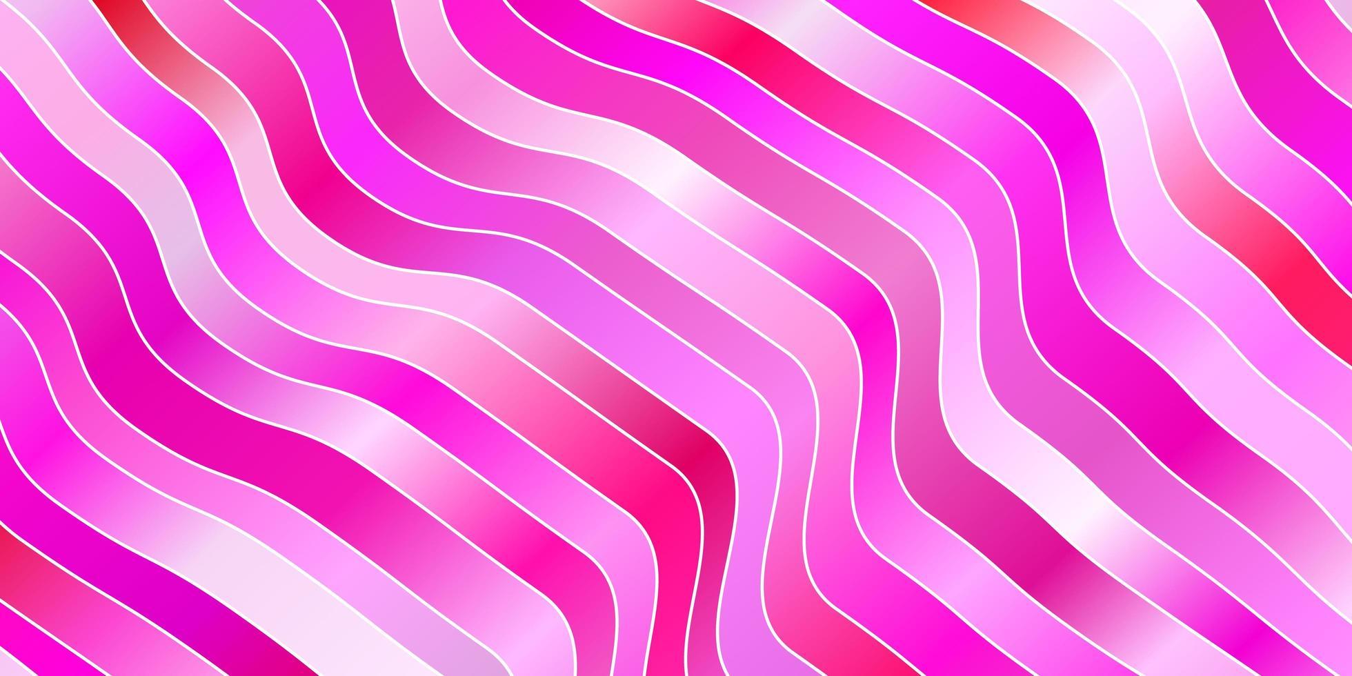 ljusrosa konsistens med kurvor. vektor