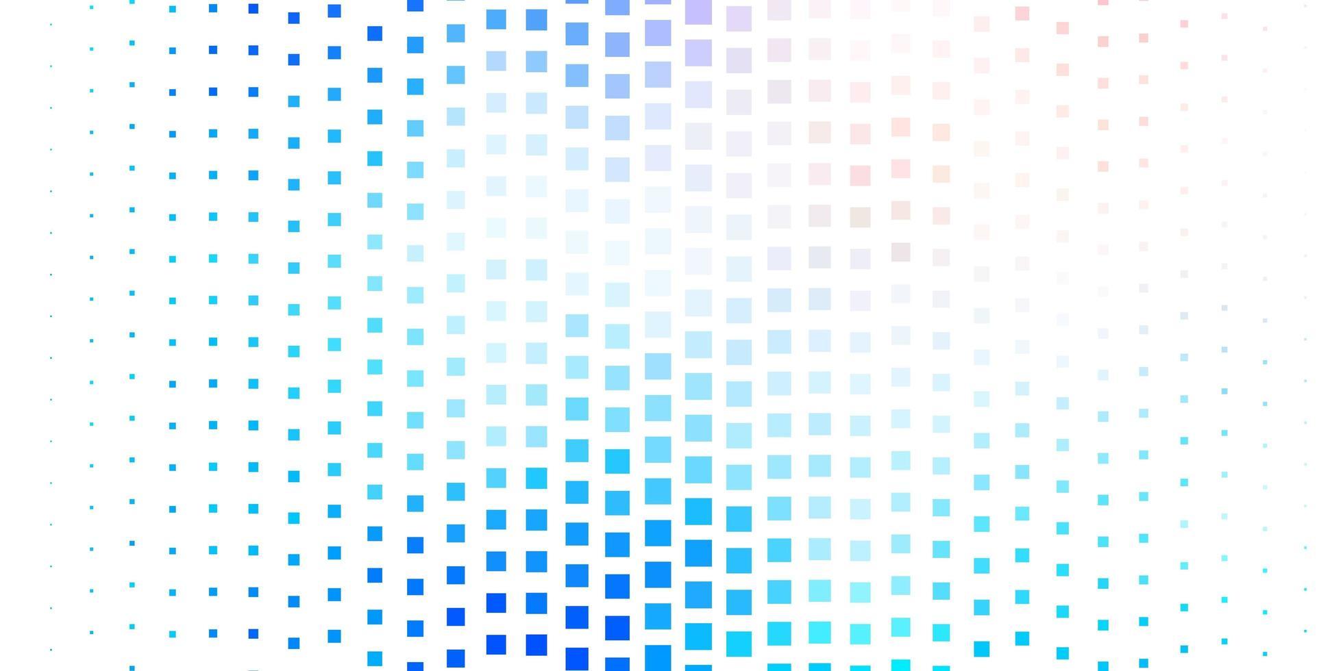 ljusrosa och blå bakgrund med rutor vektor