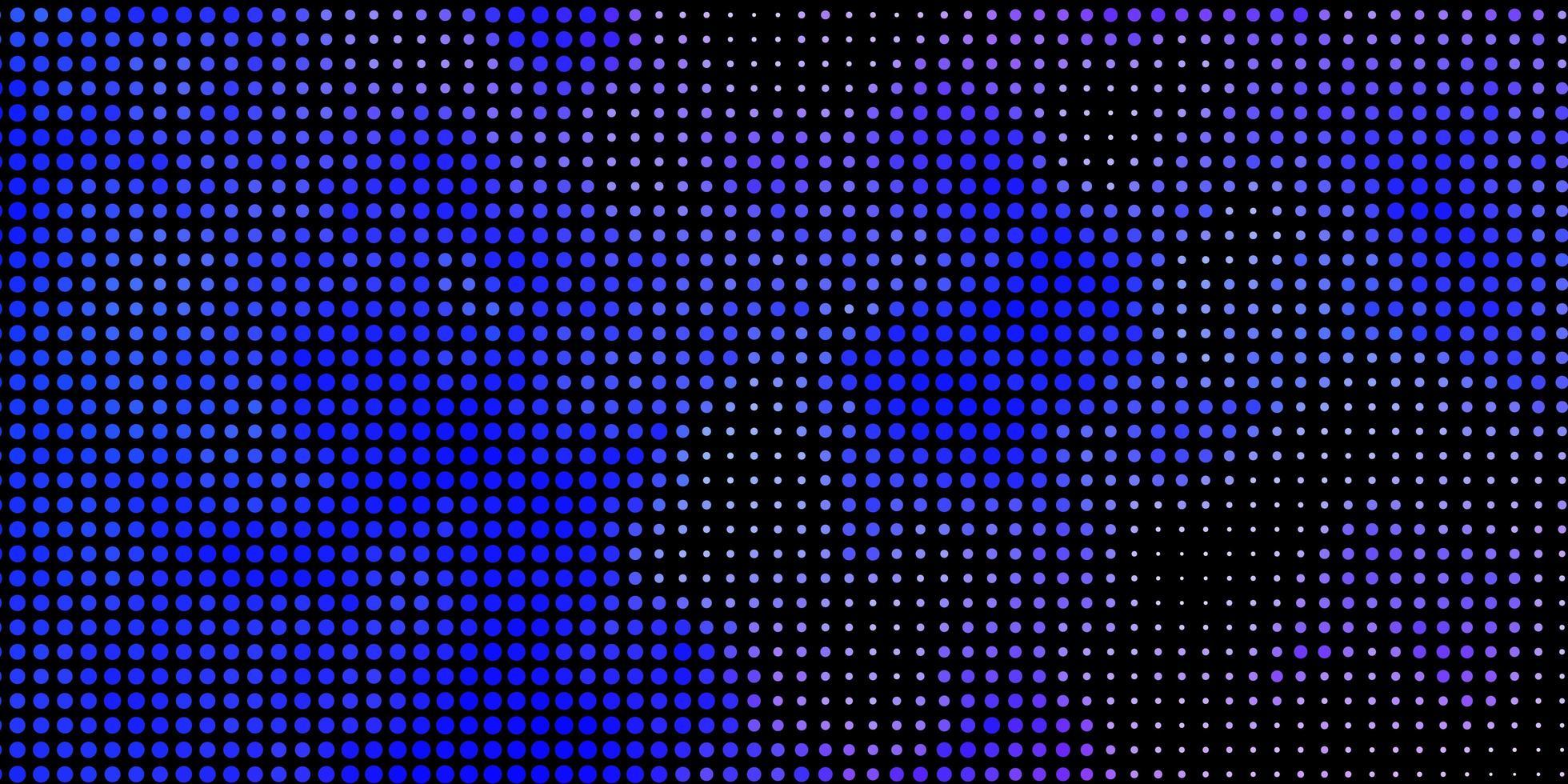 blauer Hintergrund mit Punkten. vektor
