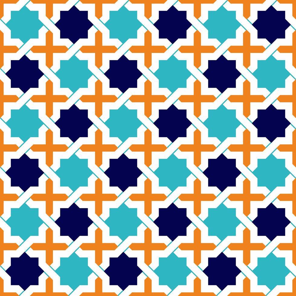 islamische Mustersterne vektor