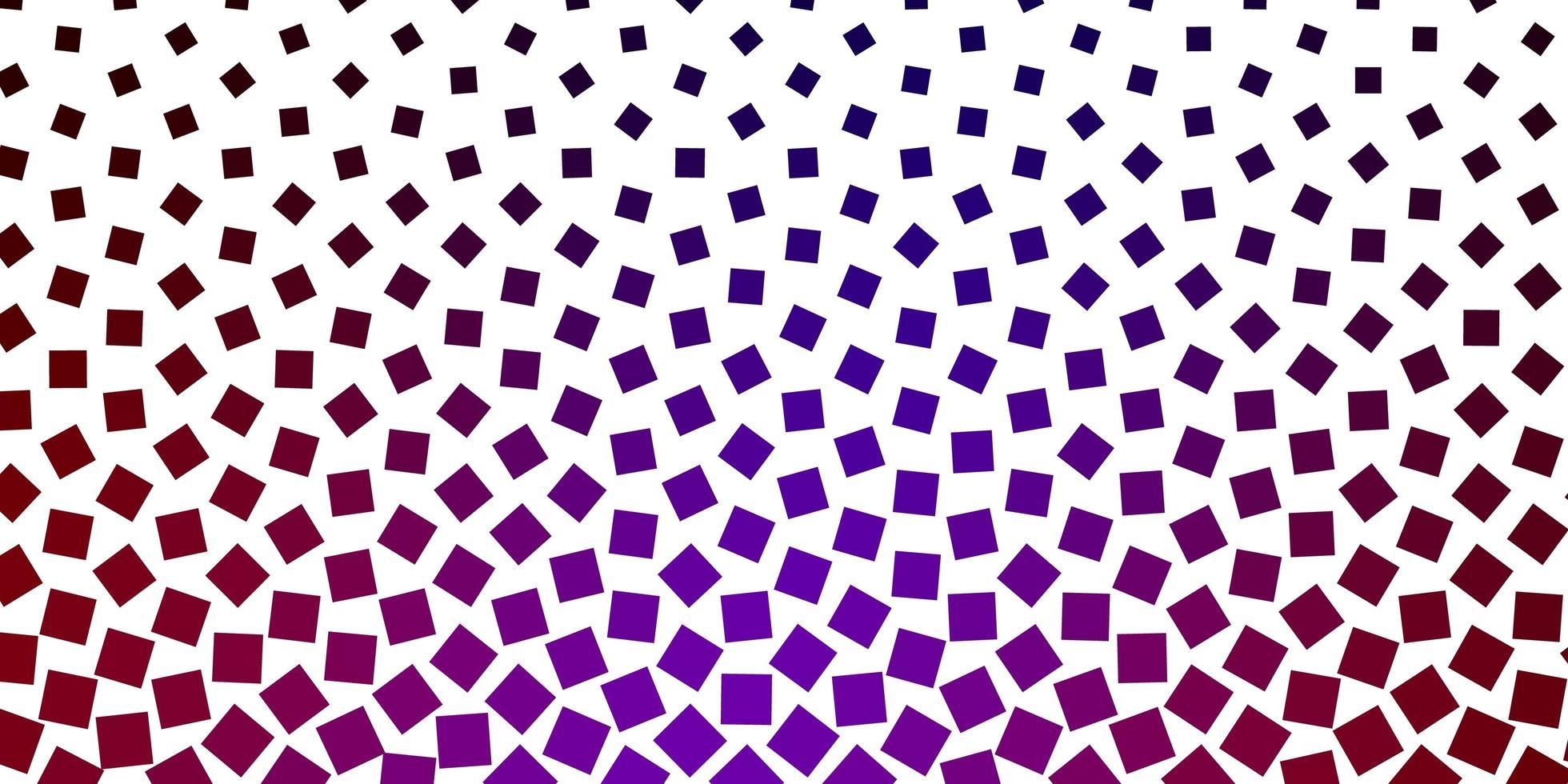 dunkelrotes und lila Layout mit Quadraten. vektor