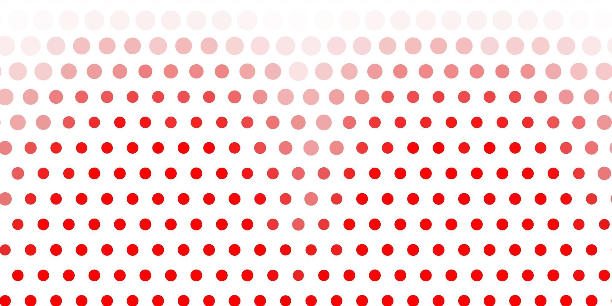 ljusröd bakgrund med bubblor. vektor