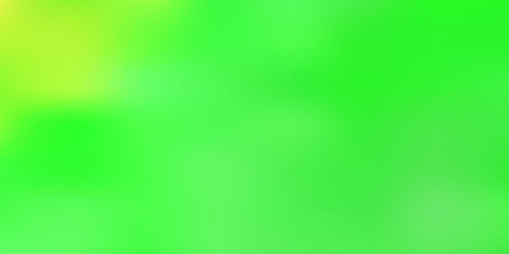 grünes Farbverlaufsunschärfemuster. vektor