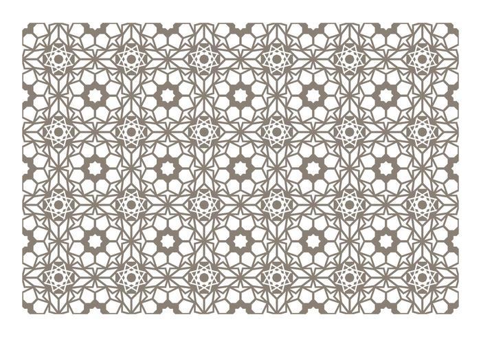 Nahtlose Islamischer Muster-Vektor vektor