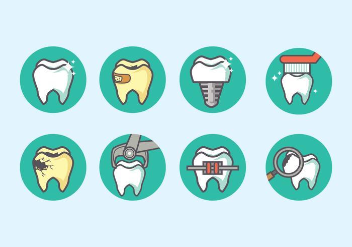 Dent Icon Vektor