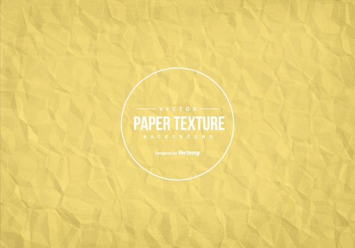 Skrynkligt papper textur Bakgrund vektor