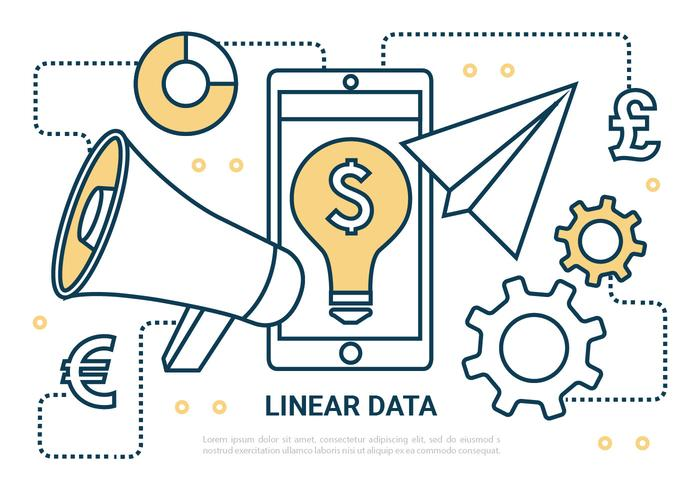 Free Digital-Marketing-Vektor-Elemente vektor
