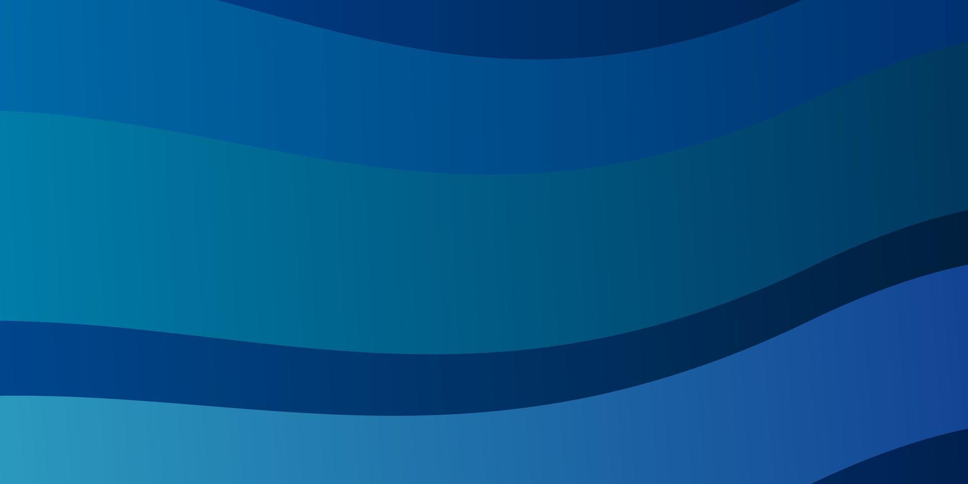 blaues Layout mit gebogenen Linien. vektor