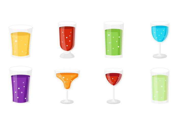 Kostenloses Alkoholische Getränke Vector