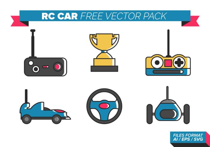 Rc Car Free Vector Pack