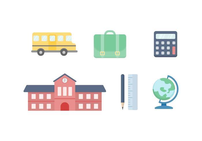 Freie Unique School Vektoren