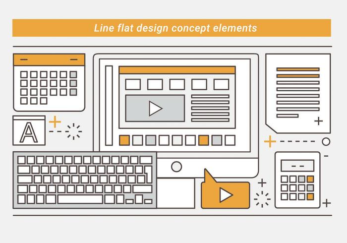 Gratis Linear Vector Design Illustration