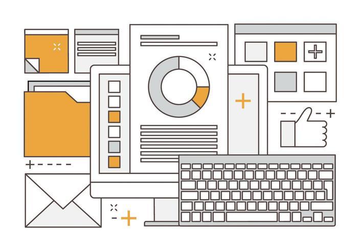 Gratis Linear Vector Digital Media Illustration